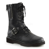 DEFIANT-206 Black Faux Leather